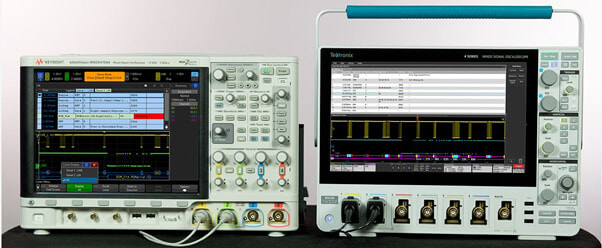 Keysight InfiniiVision X-Series oscilloscopes vs the Tektronix 4 Series