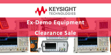 Keysight Ex-Demo Sale